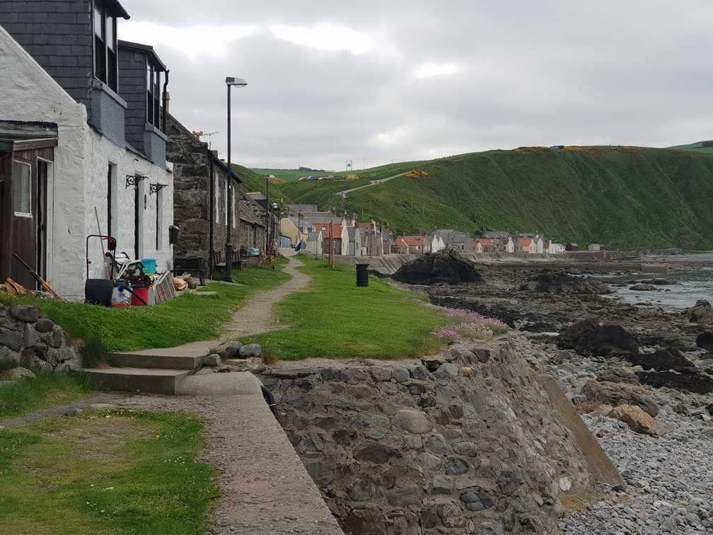 The tiny village of Crovie