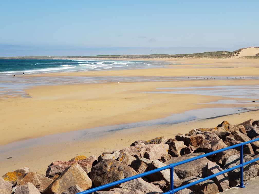 The beach at Fraserburgh