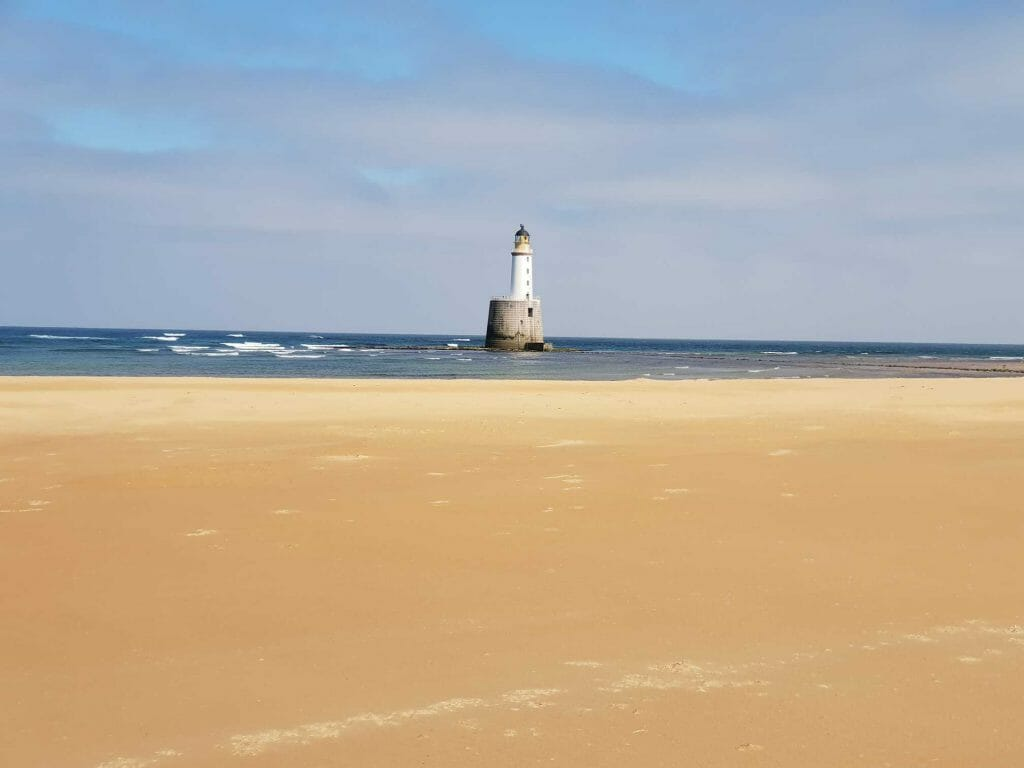The lighthouse at Rattray Head