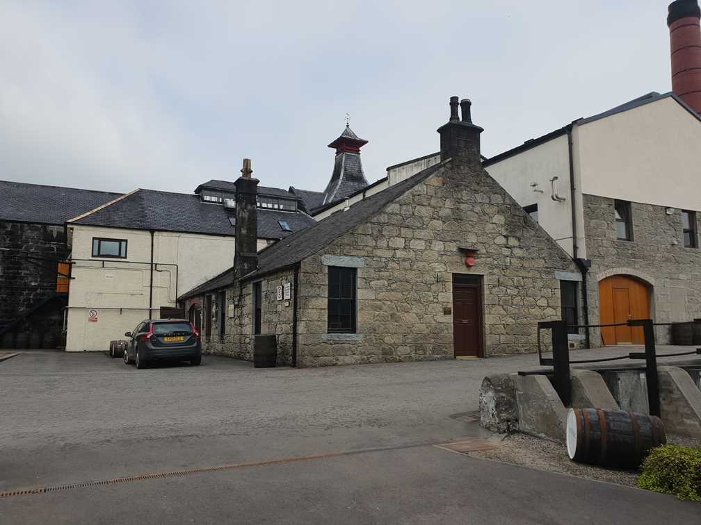 Knockdhu Distillery on the Whisky Trail