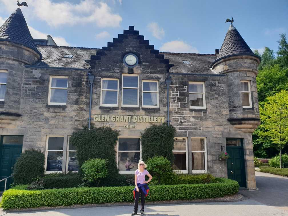 The Glen Grant Distillery on the whisky trail