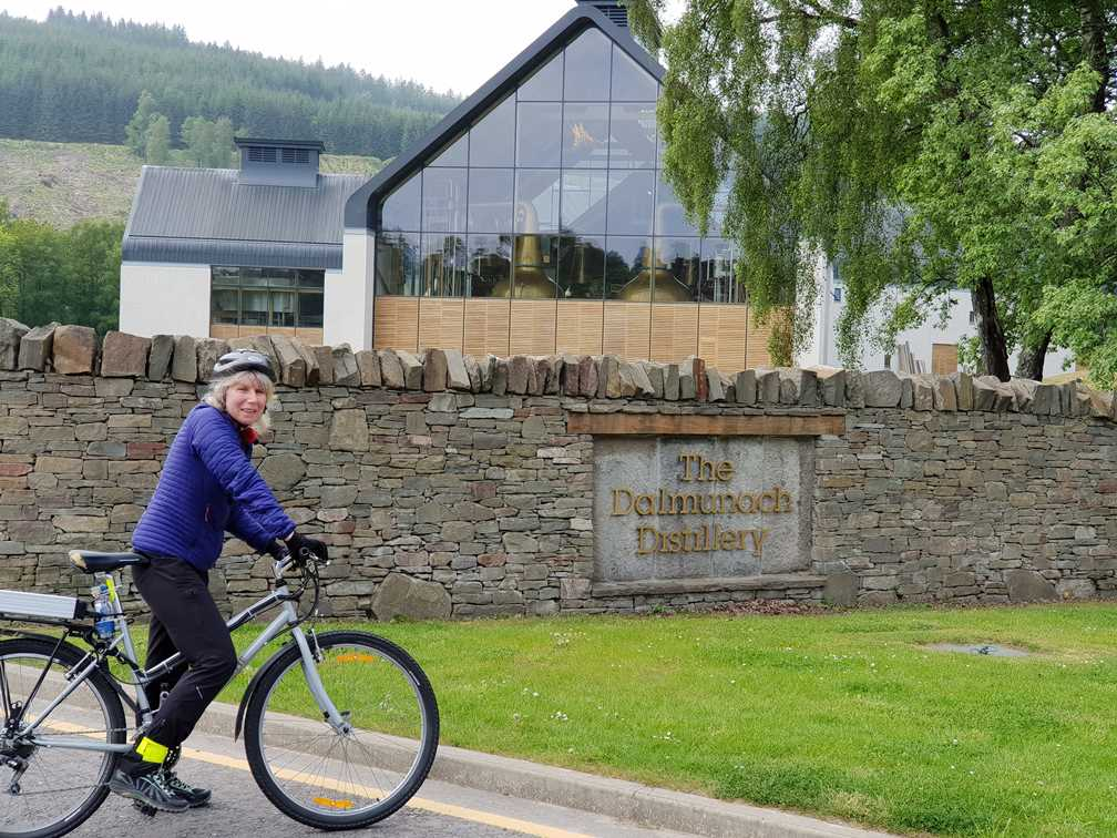 Another distillery on the whisky trail