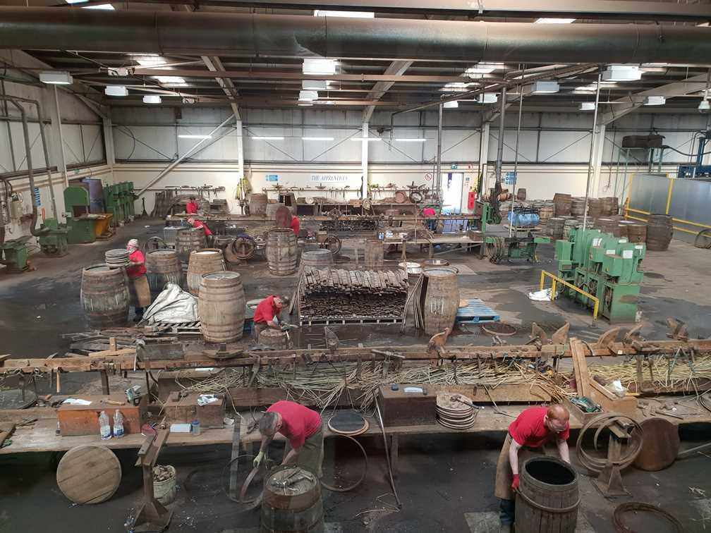 Inside the Speyside Cooperage