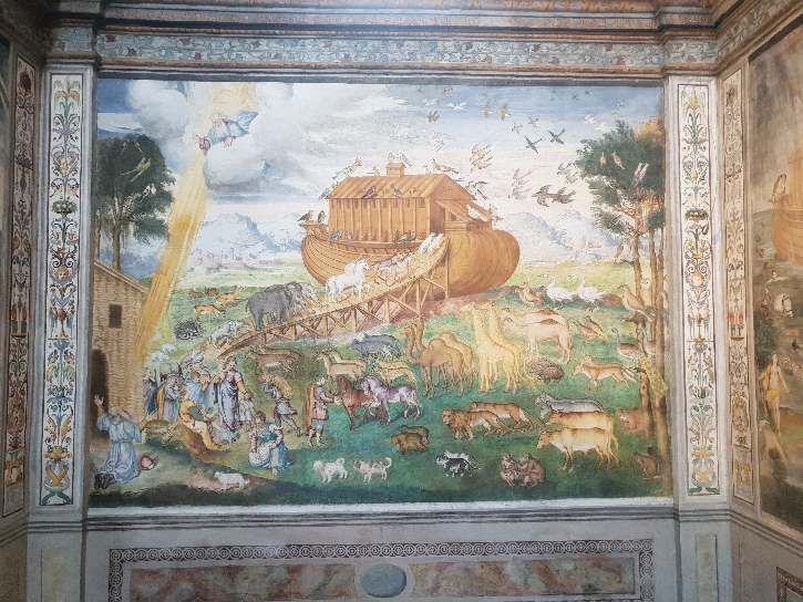 Noah and the Ark fresco