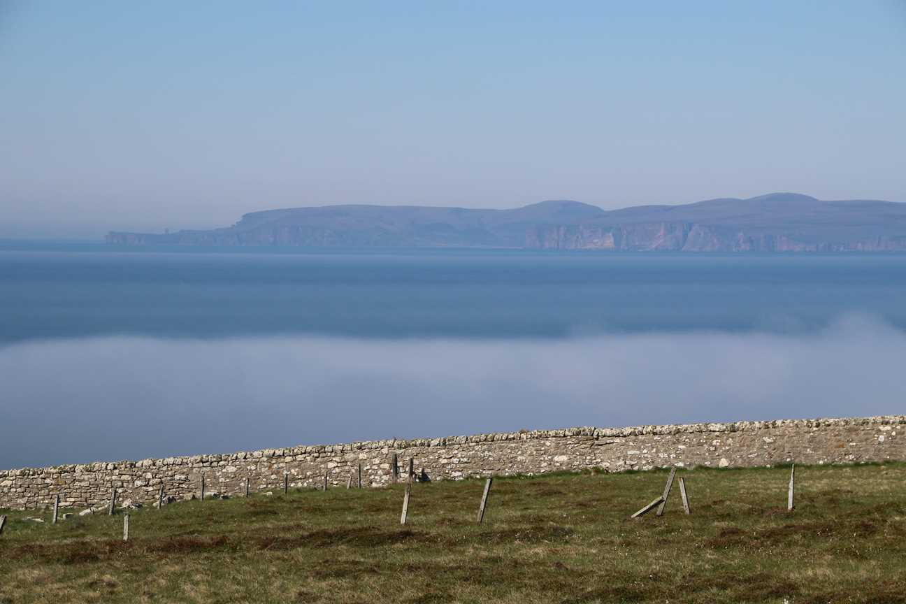 Misty at Dunnet Head