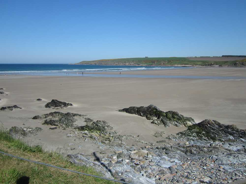 Beach at Sandend Bay