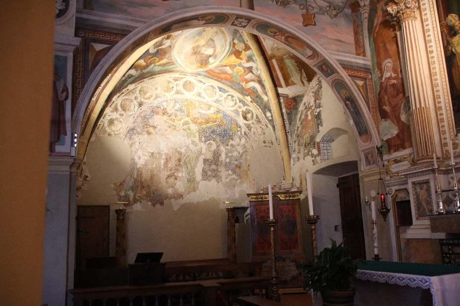 Inside Santa Caterina del Sasso