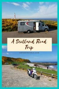 A Scotland Road Trip pin