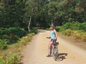 Me on my e bike