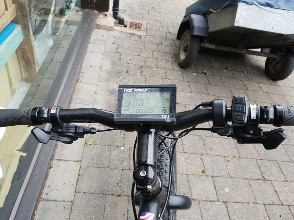 Display on the electric bike