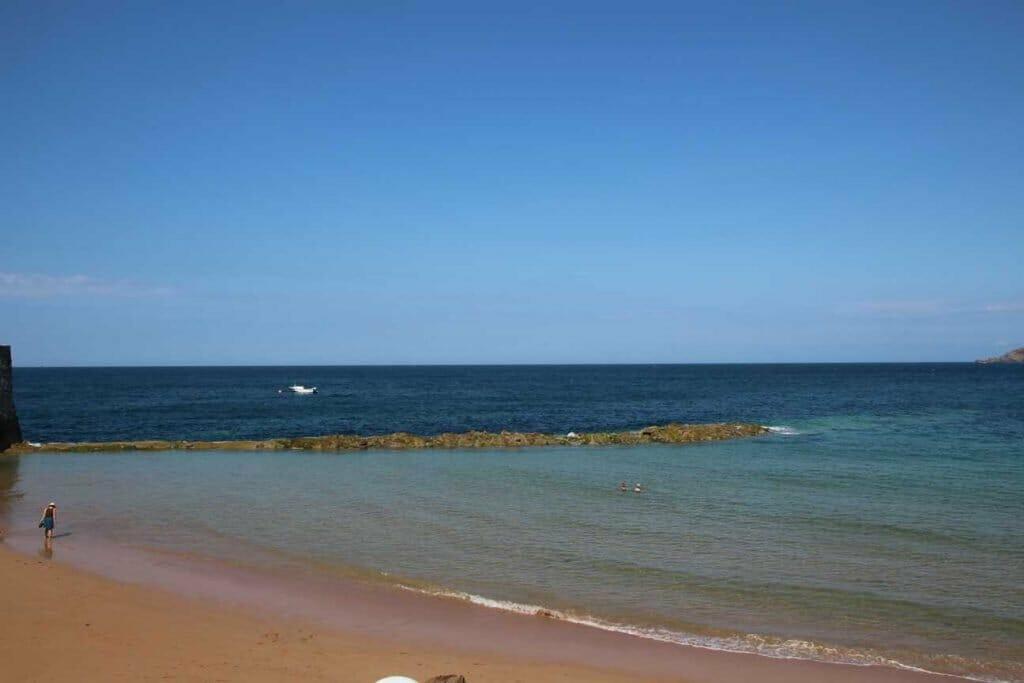 Beautiful beach on Jersey