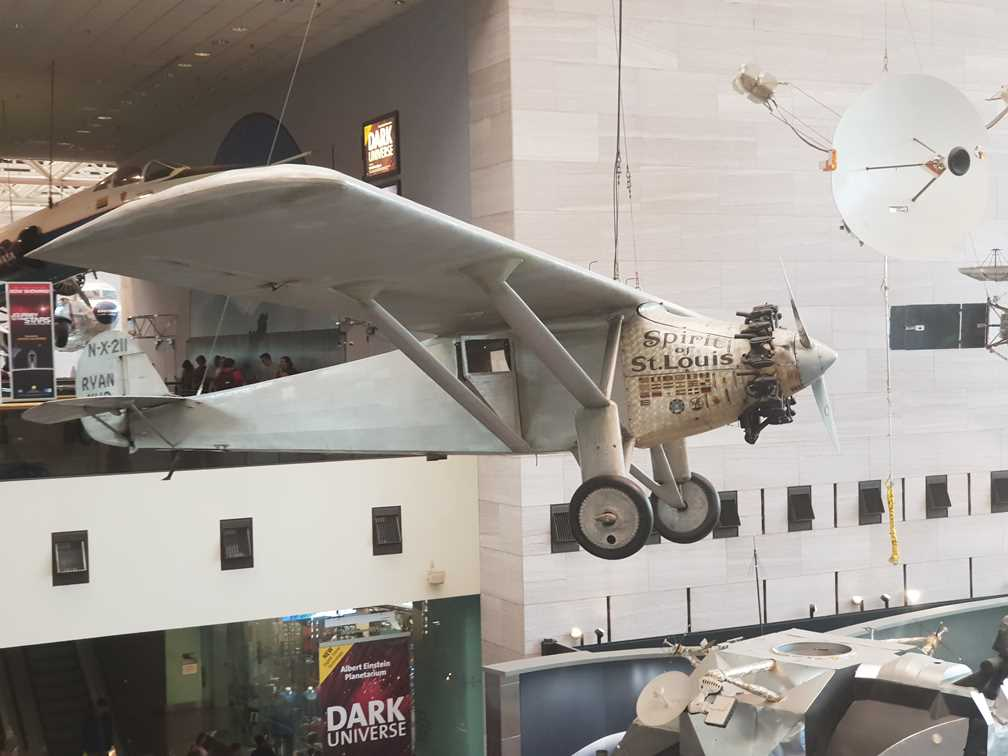 The Spirit of St Louis in the National Air and Space Museum