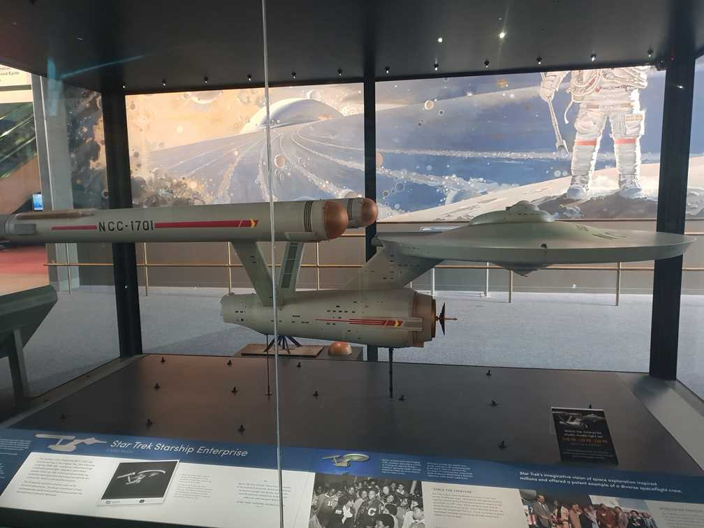 Model of the Enterprise from Star Trek