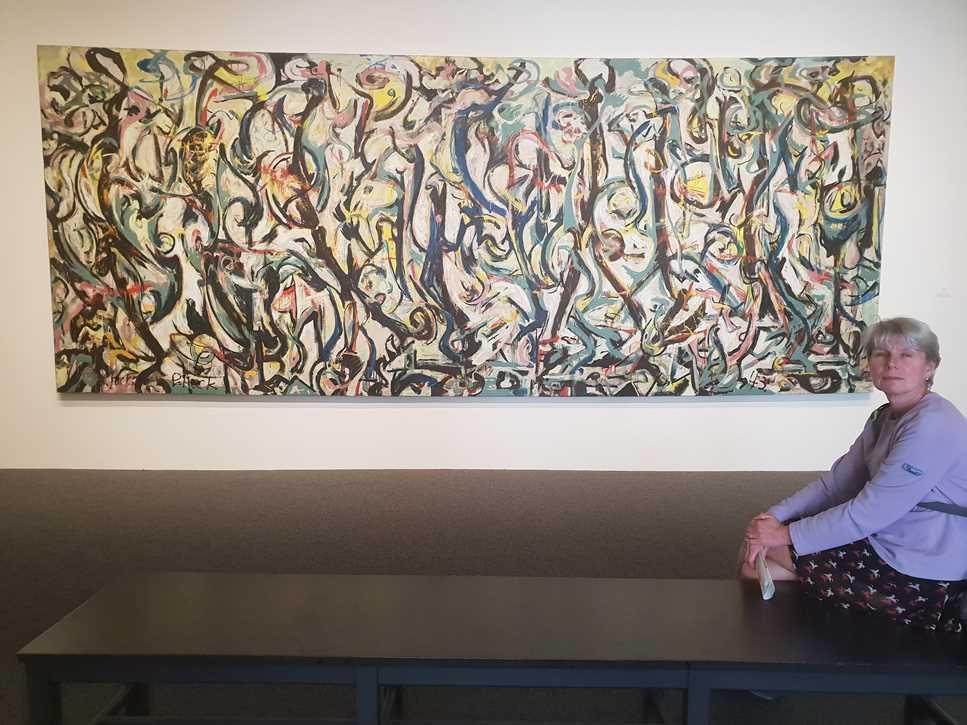 Mural by Jackson Pollock