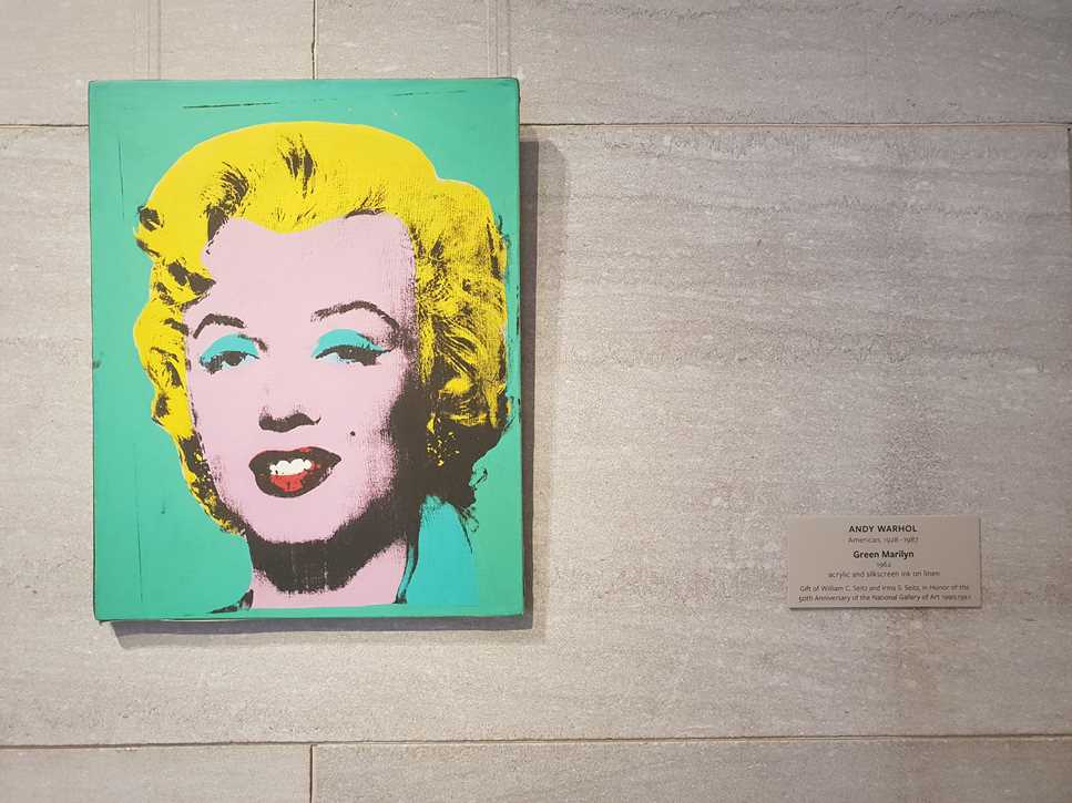 Warhol's picture of Marilyn Monroe