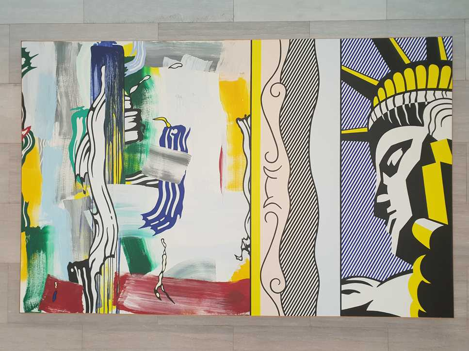 Lichtenstein picture in the National Gallery