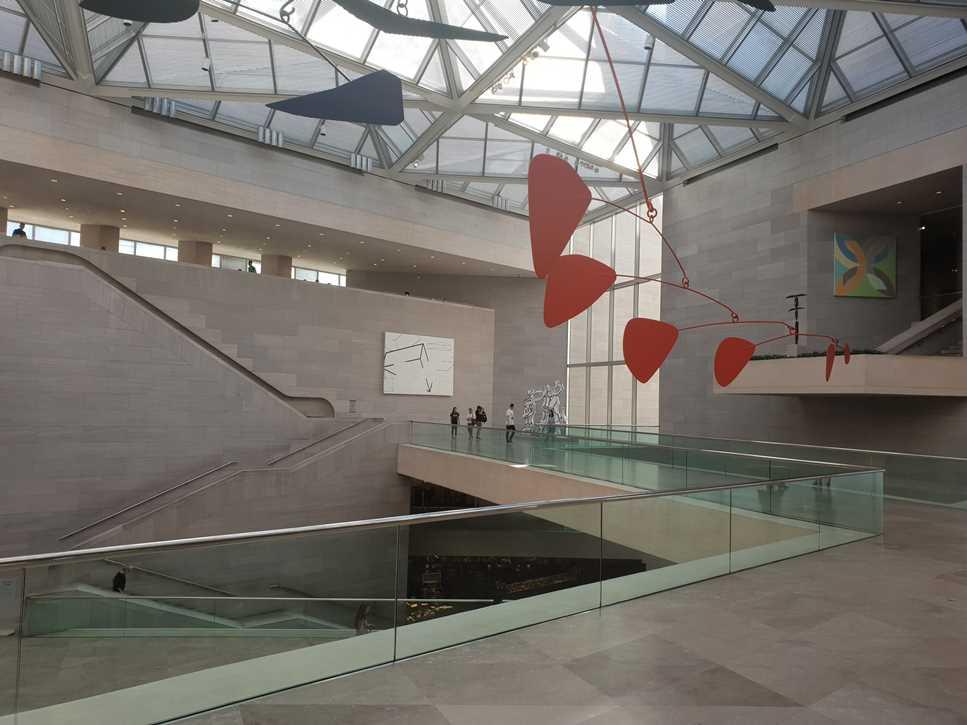 A modern setting for modern art