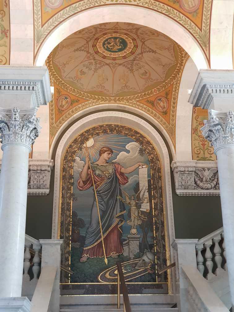 The Murano glass mosaic