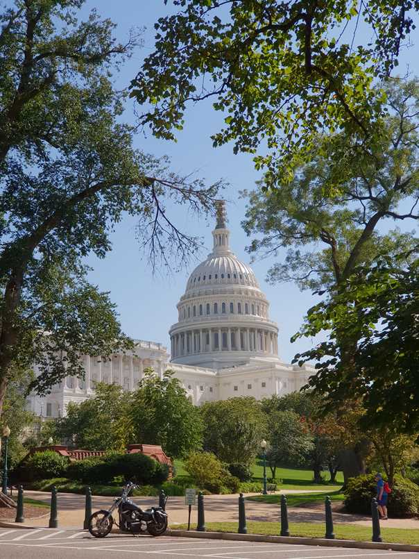 The Capitol, one of the highlights of Washington DC