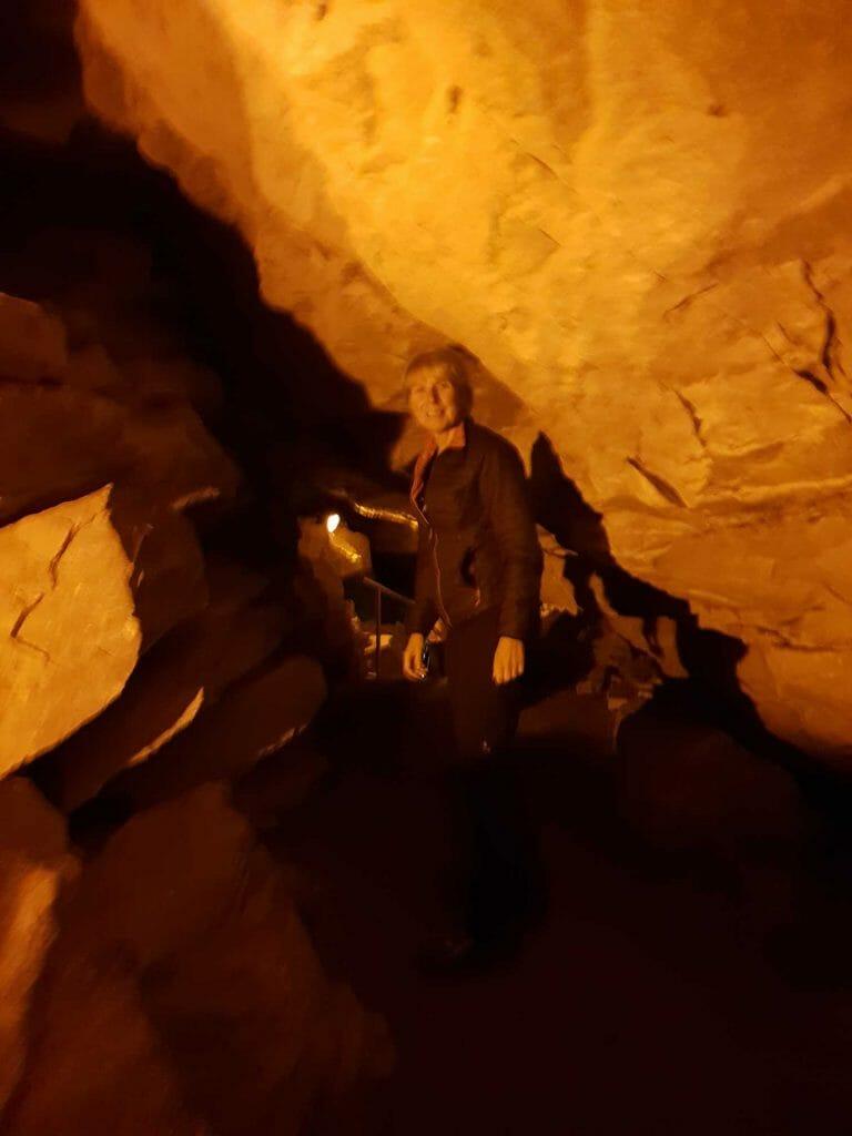 Inside Mammoth Cave, Kentucky