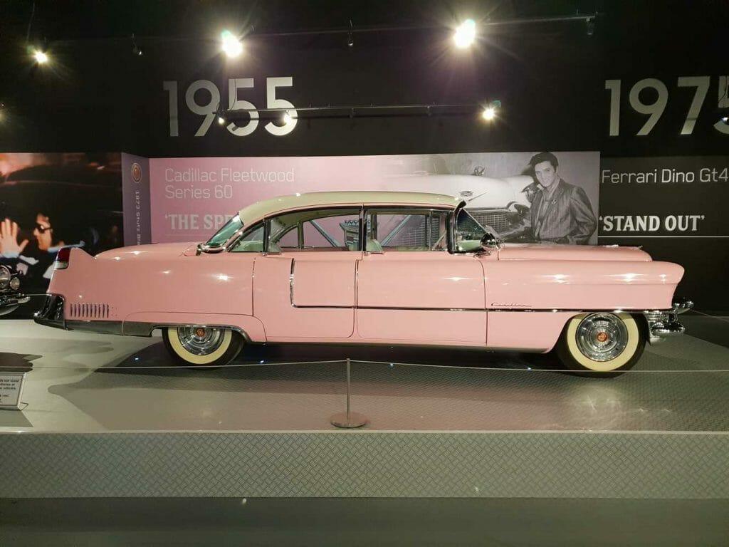 Elvis' pink caddy