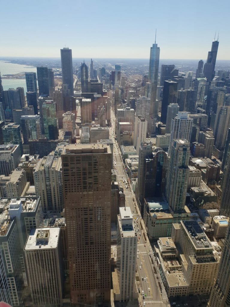 View from the Hancock Building