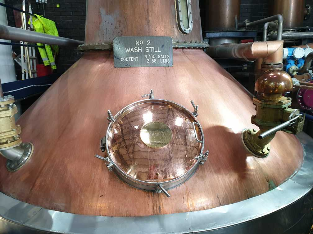 The copper still at Tullibardine