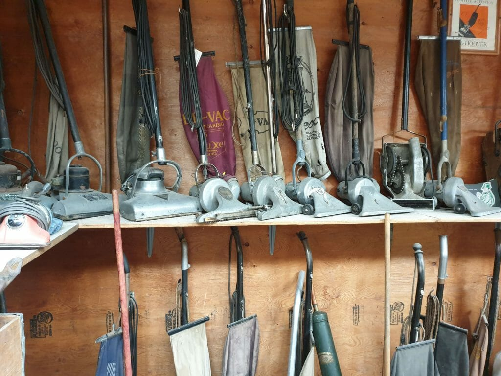 Vacuum cleaner collection in The Miracle of America Museum