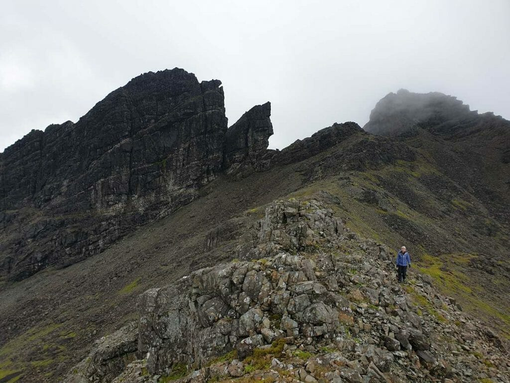 Rocky Cuillin landscape