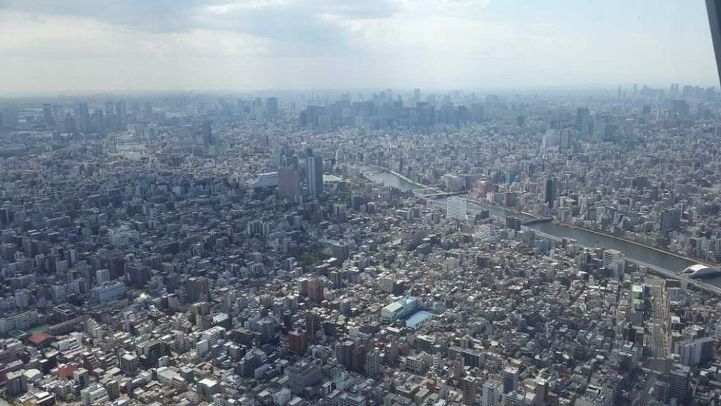 View from the Sky Tree