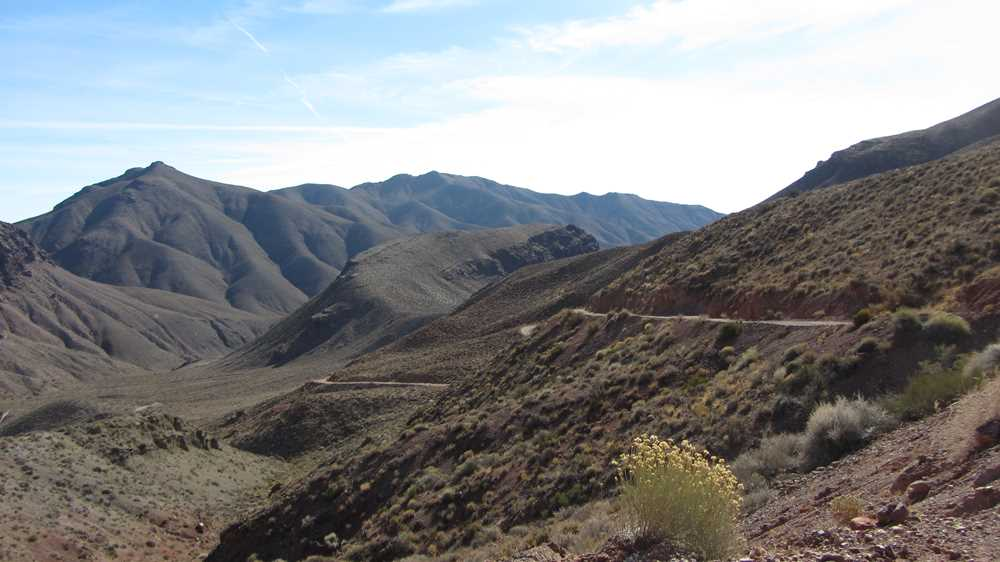 On the Road to Titus Canyon