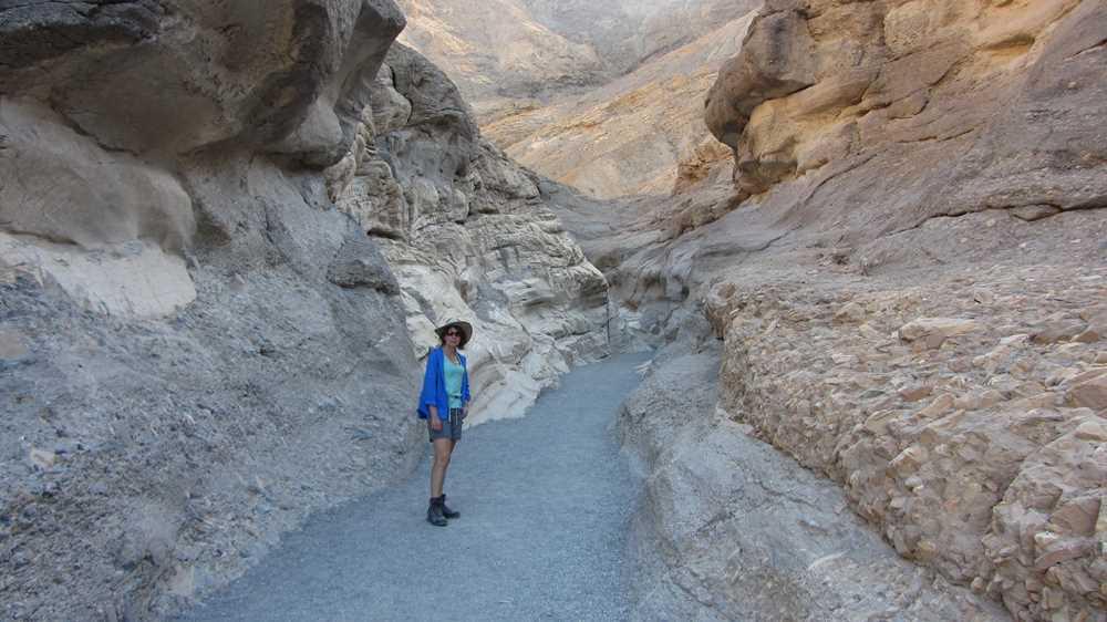 Exploring Death Valley Mosaic Canyon