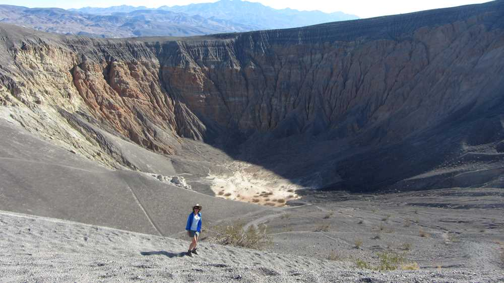 Exploring Death Valley and the Ubehebe Crater