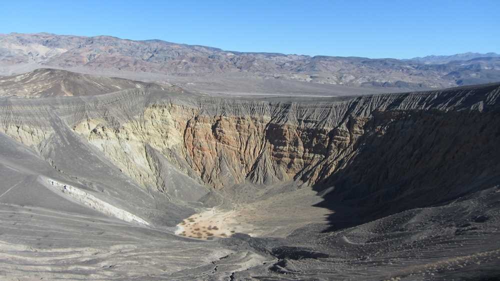 Ubehebe Crater in Death Valley