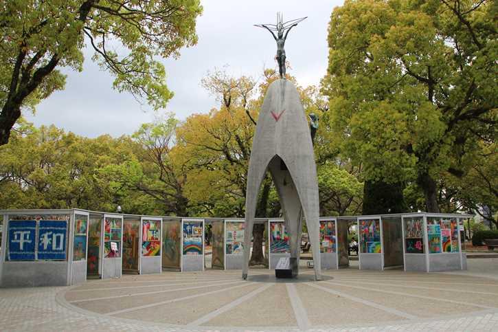 The Children's Memorial in Hiroshima