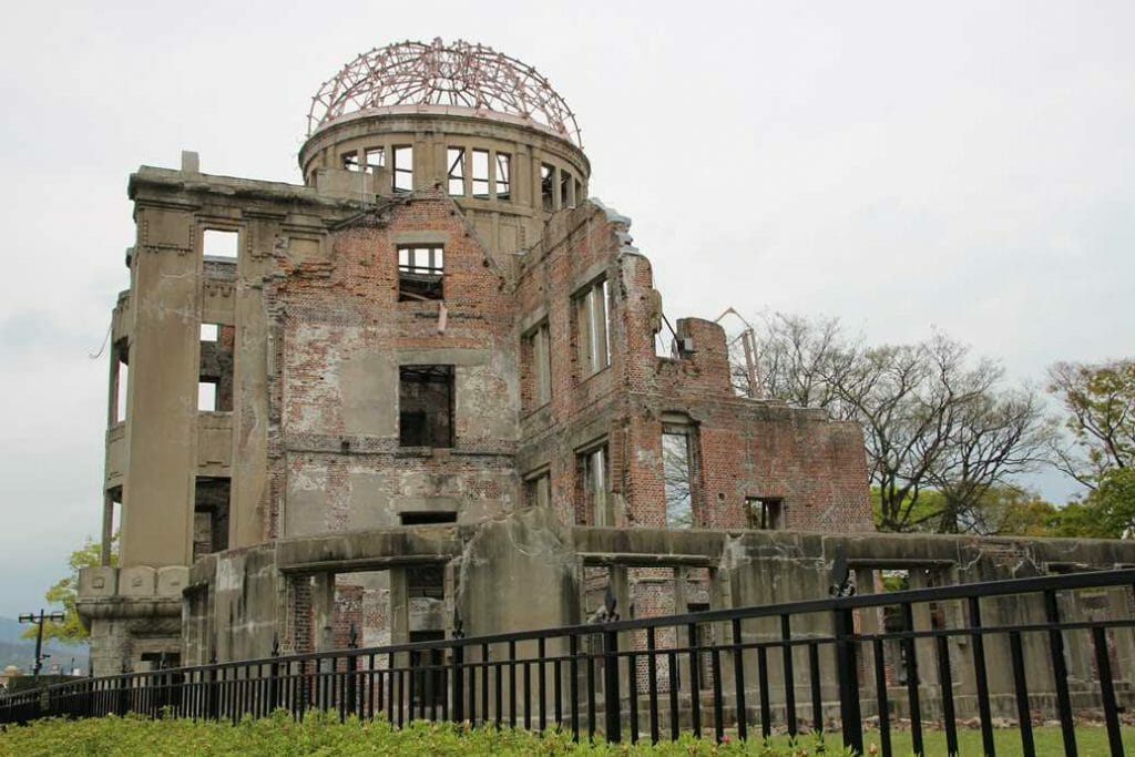 Memorial Dome on tour of Japan
