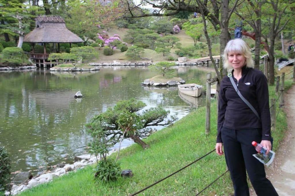 In Shukkeien in Hiroshima