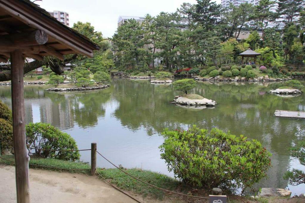 Garden in Hiroshima