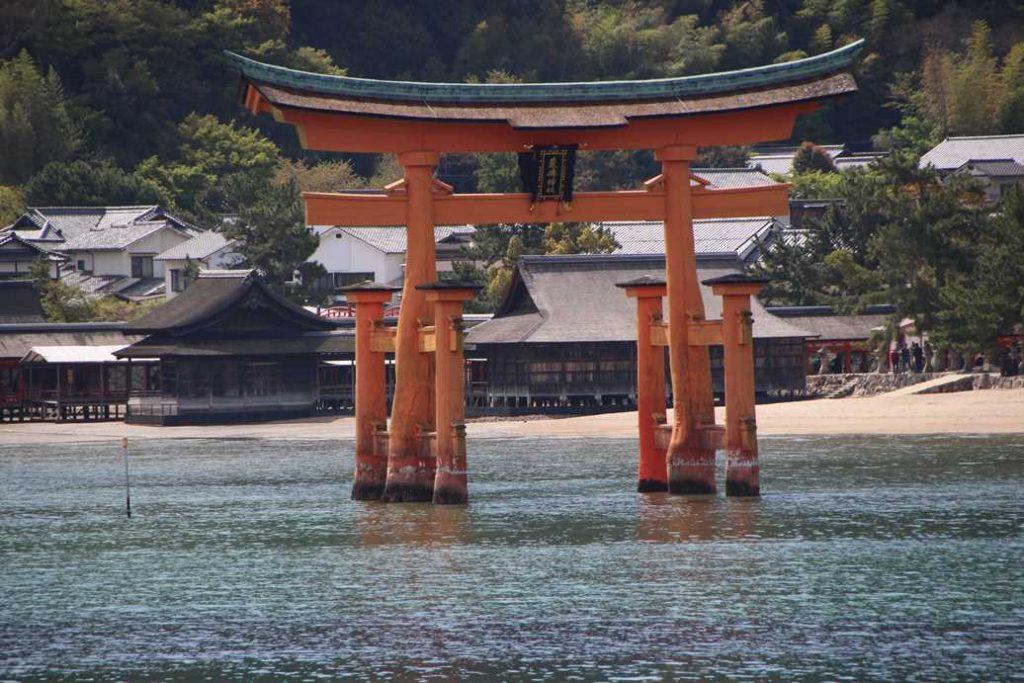 Picture of the Torii Gate on Miyajima