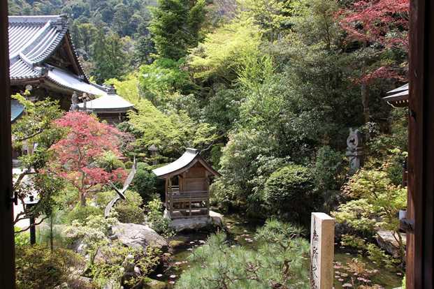 Beautiful landscape on Miyajima