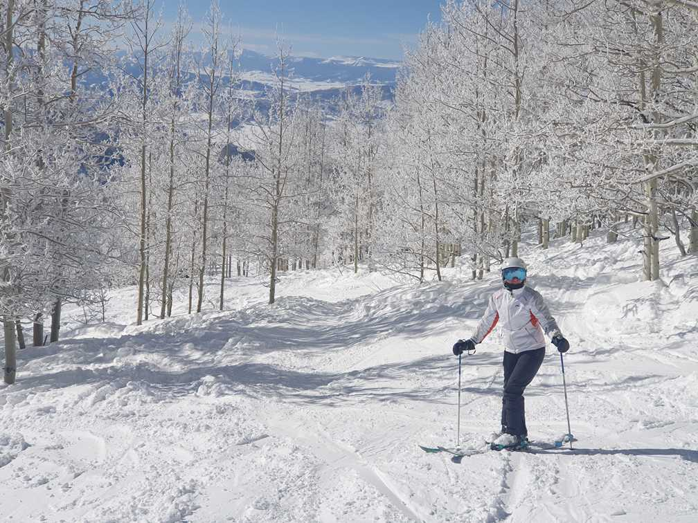 Skiing in Steamboat Springs, the next stop on our RV ski trip