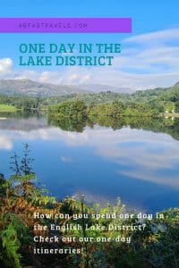 Pin Image for One Day in the Lake District