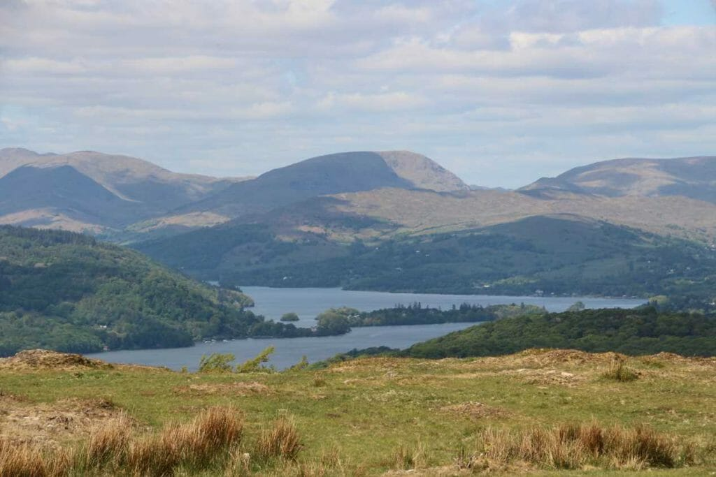 View over Windermere from Gummer's How