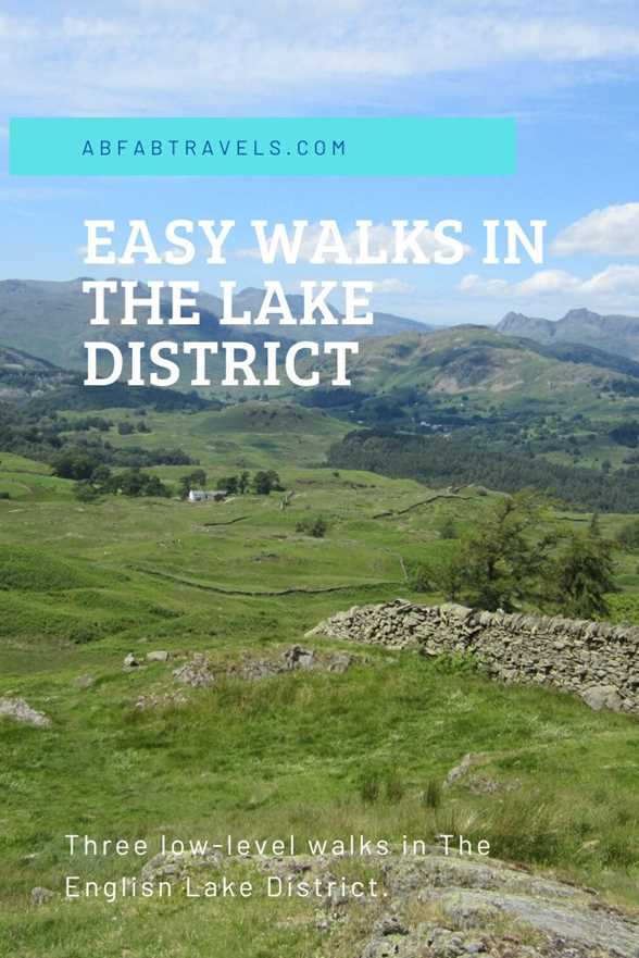 Pin image for Easy walks in the Lake District
