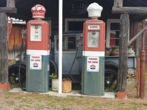 Vintage fuel pumps