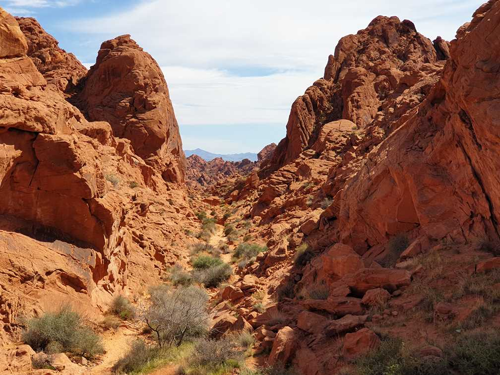 Rainbow Vista hike in Valley of Fire