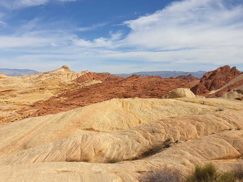 Rainbow Vista trail in Valley of Fire