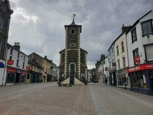 View of Keswick town centre