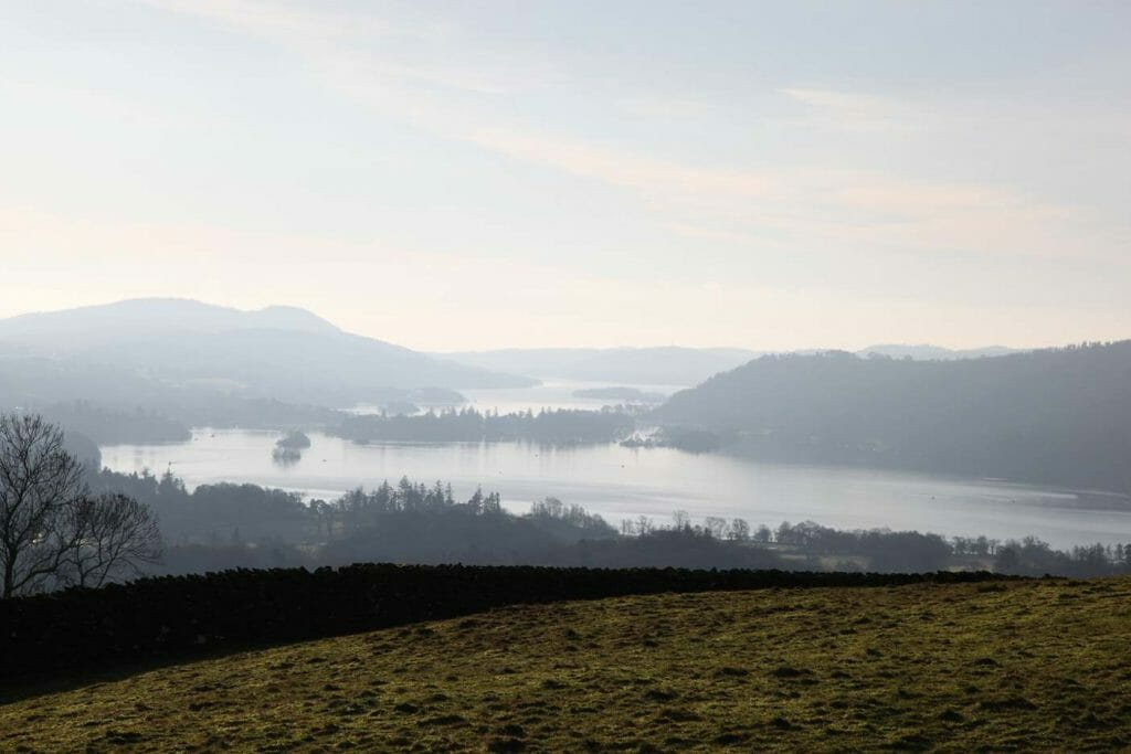 View from Wansfell over Windermere