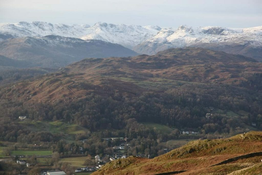 View over the fells